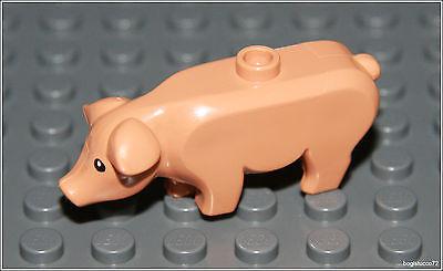 Lego City x1 Flesh Pig Farm Small Animal Minifigure NEW