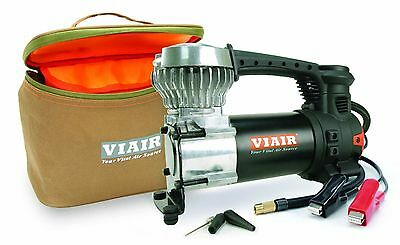 "VIAIR 87p Portable 12v Compressor Inflator Fill up to 31"" Tires w/ LED Light NEW"