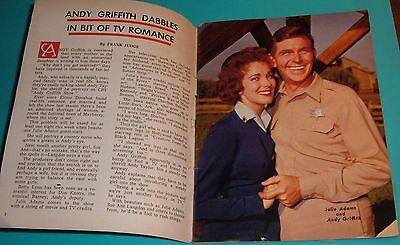 Cincinnati Tv Guide~Leslie Uggams~Richard Chamberlain~Andy Griffith~Paul Burke