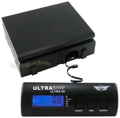 My Weigh UltraShip 35# Digital Scale _noAC noSS_ Postal Shipping Postage Bench