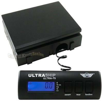 My Weigh Ultraship 75 Digital Scale Noac Noss Postal Shipping Postage Bench
