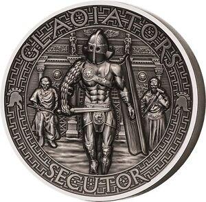 Salomon Islands 2017 5$ SECUTOR Chaser Gladiators 2oz Silver Coin - Ostrowiec Swietokrzyski, Polska - Salomon Islands 2017 5$ SECUTOR Chaser Gladiators 2oz Silver Coin - Ostrowiec Swietokrzyski, Polska