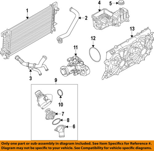 1998 ford f 150 cooling system diagram ford oem 11 14 f 150 radiator upper hose cl3z8260a ebay  ford oem 11 14 f 150 radiator upper