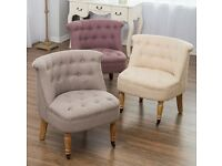 New Next Mayfair Chair Lavender Lilac Purple Stool