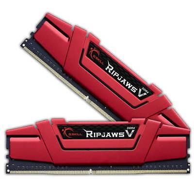 8GB G.Skill RipJaws V rot DDR4-2400 DIMM CL15 Dual Kit (F4-2400C15D-8GVR)