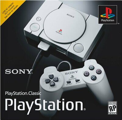 NEW Sony PlayStation Classic Video Game Console - Gray