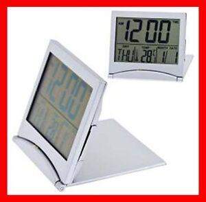 Orologio sveglia digitale tascabile temperatura da scrivania tavolo ufficio ebay - Orologio da tavolo digitale ...