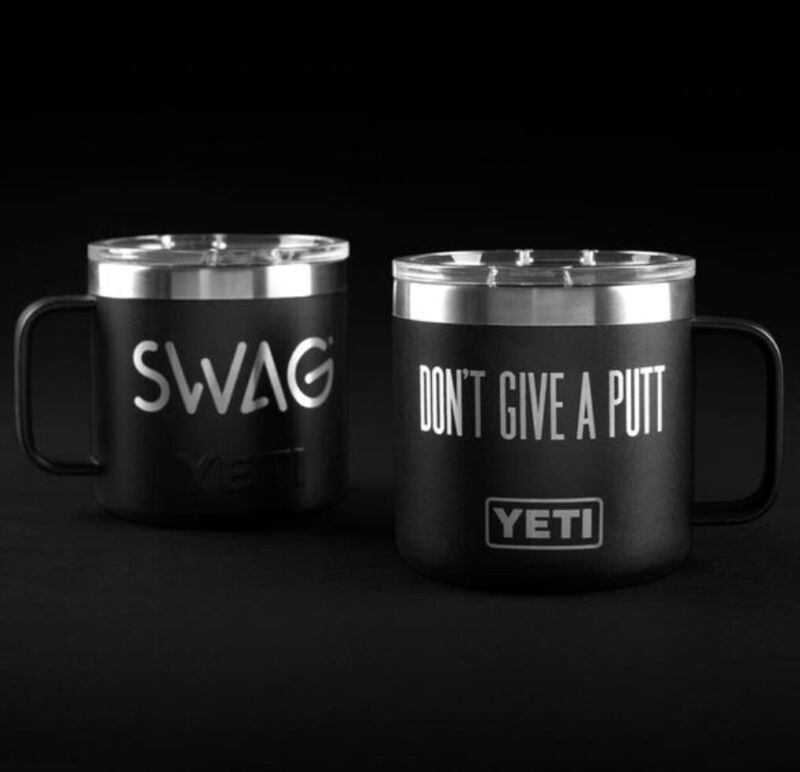 Brand New SWAG Golf YETI DGAP Rambler Mug 14oz SOLD OUT