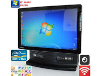 "RM All In One AIO PC Intel Core 2DUO 2.93GHZ 4GB DDR3 19"" webcam WINDOWS 7,OFFICE"