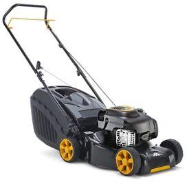 Mcculloch M40-125 Classic Petrol Push Collect Lawn Mower, 125 cc, 40 cm Cutting Width