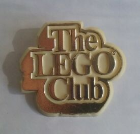 Vintage Lego Club Gold Member Badge