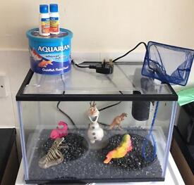 Rectangular fish tank