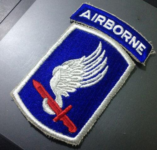 Vietnam Era US Army 173rd Airborne Infantry Brigade Cut Edge Patch 1966~1975