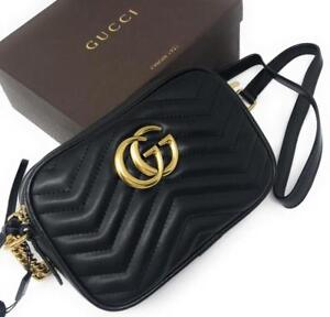 Gucci Marmont Black Leather ( More Styles Available)