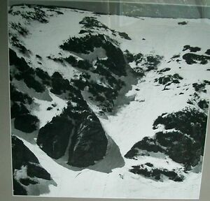 Ski Lodge Chalet  Art Poster Framed Tuckerman Rick Golt B&W