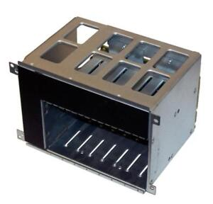 HP ML350 G6 Hard Drive Cage with Backplane & 2 Cables - 8 Slots - 499263-001