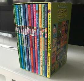 Collection of horrid Henry books.