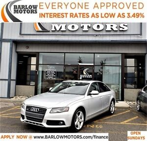 2012 Audi A4 2.0T*EVERYONE APPROVED* APPLY NOW DRIVE NOW.