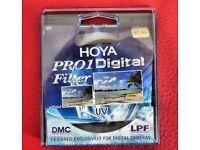 Hoya Pro 1 Digital UV filter 67mm.