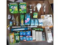 Job lots of light bulbs