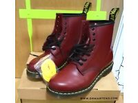 Dr. Martens AirWair cherry red size 7