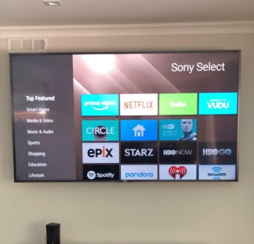 "Sony 42"" Smart WiFi Led Full Hd 1080P tv Freeview HD Youtube Netflix Wall  Mountable Only tv 