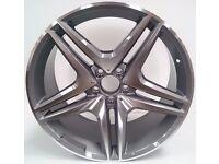 """4 x 18"""" NEW Mercedes BENZ ALLOY WHEELS AMG MERC C E A S CLASS CLK CLC CLS SL SLK C63 E63 E220 C220"""