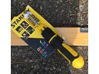 Stanley Push-N-Pick Multi-Bit Ratcheting Screwdriver new