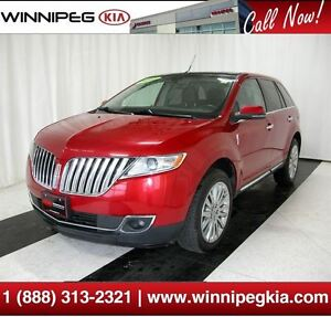 2012 Lincoln MKX *Loaded w/ Backup Cam., Pano. Sunroof & More!*