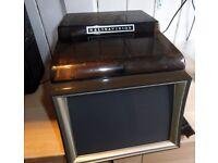Halinavision 8mm cine projector player. Plays Standard and Super 8mm cine films. Working order.