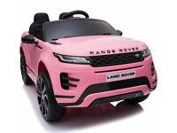 Licensed Range Rover Evoque 4WD 12V Ride On ELECTRIC 2020 Model - Pink