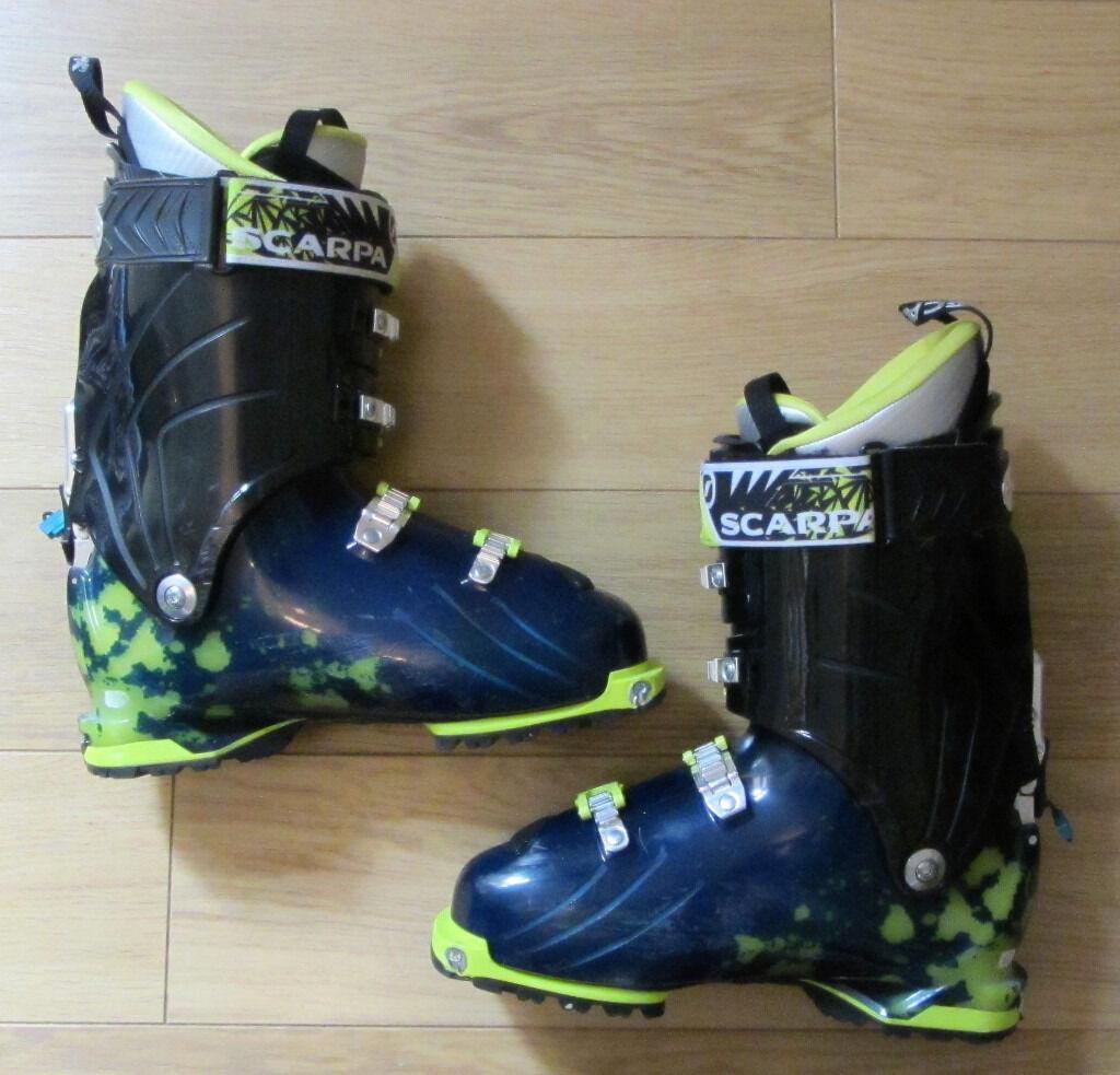 Mens Scarpa Freedom SL Ski Boots - Mondo Point Size 29   in ...