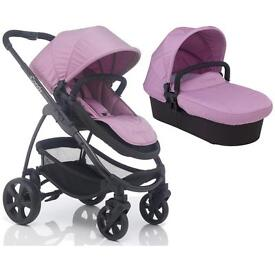 iCandy Strawberry 2 pushchair, carrycot, parasol and footmuff