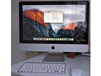 "Late 2009 Apple 21.5"" iMac 3.06GHz Core 2 Duo 500GB with upgraded 12GB of memory"