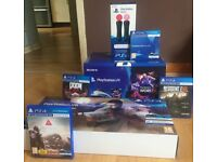 Sony Playstation VR with Headset, Camera, Controllers and Games