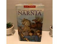 REDUCED -The Complete Chronicles Of Narnia 3 Book Boxset