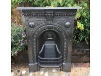 Antique Victorian Fireplace C1888 (Cast Iron)