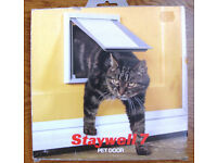 Unused and still boxed Staywell 7 Cat /Pet door