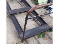 Metal 6ft trolly cart barrow