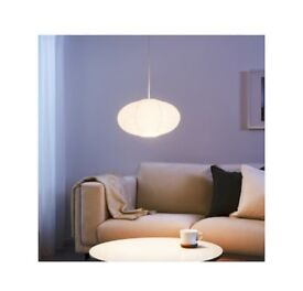 Paper pendant lampshade easy fit - new in packaging