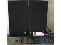 50 watts Cambridge Audio A1 v32 SE Integrated Audio Amplifier AMP system + Castle 2 Way speakers