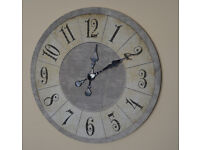 Large Fabric Wall clock