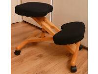 Wooden Kneeling Chairs Ergonomic Kneeling Stools