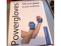 Weighted power gloves 0.5 kgs