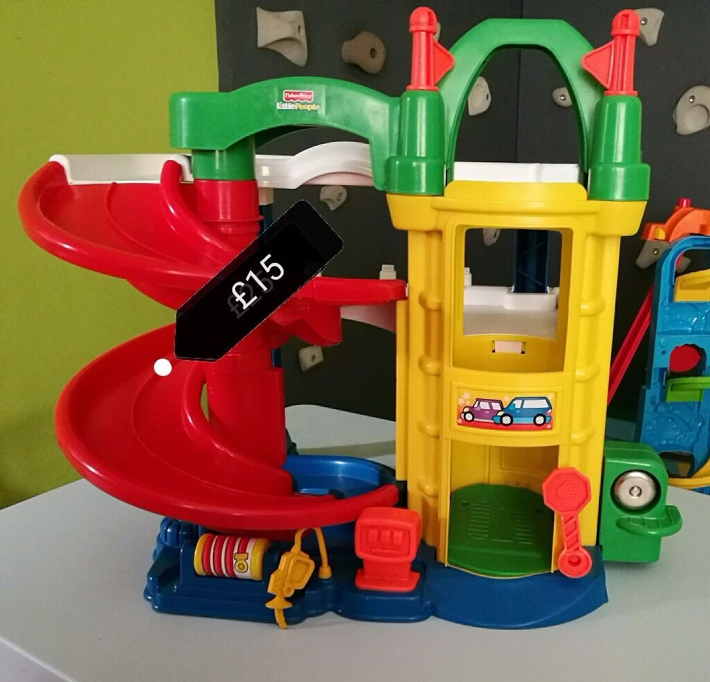 Fisherprice Little People Car Garagein Newtownards, County DownGumtree - Very popular kids toy and a must have for hours of fun. In excellent condition. Please feel free to take a look at my other items for sale. Thanks for looking, Alicia