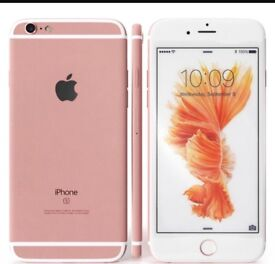 iPhone 6s rose gold 16GB box