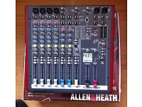 ALLEN & HEATH ZED SIXTY 10FX USB MIXER