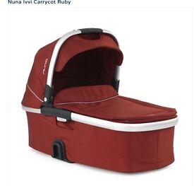 Nuna Ivvi Carrycot Ruby