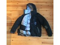 Bonfire Down Insulated Snowboard jacket (Black/Large)