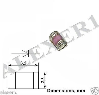 2 Pcs Schottky Detector Gaas Diode 40ghz 3a121a Military Ussr Nos
